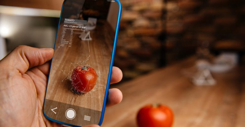 Augmented Reality Application Using Artificial Intelligence For Recognizing Food