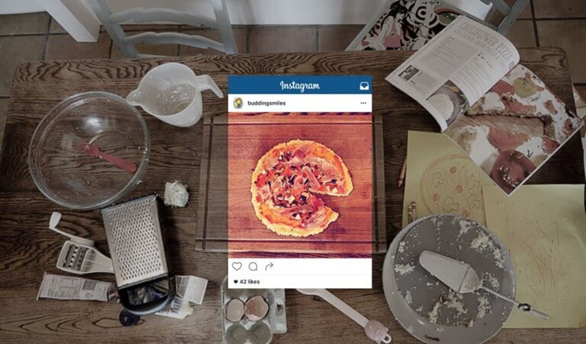 Instagram Social Media Restaurant