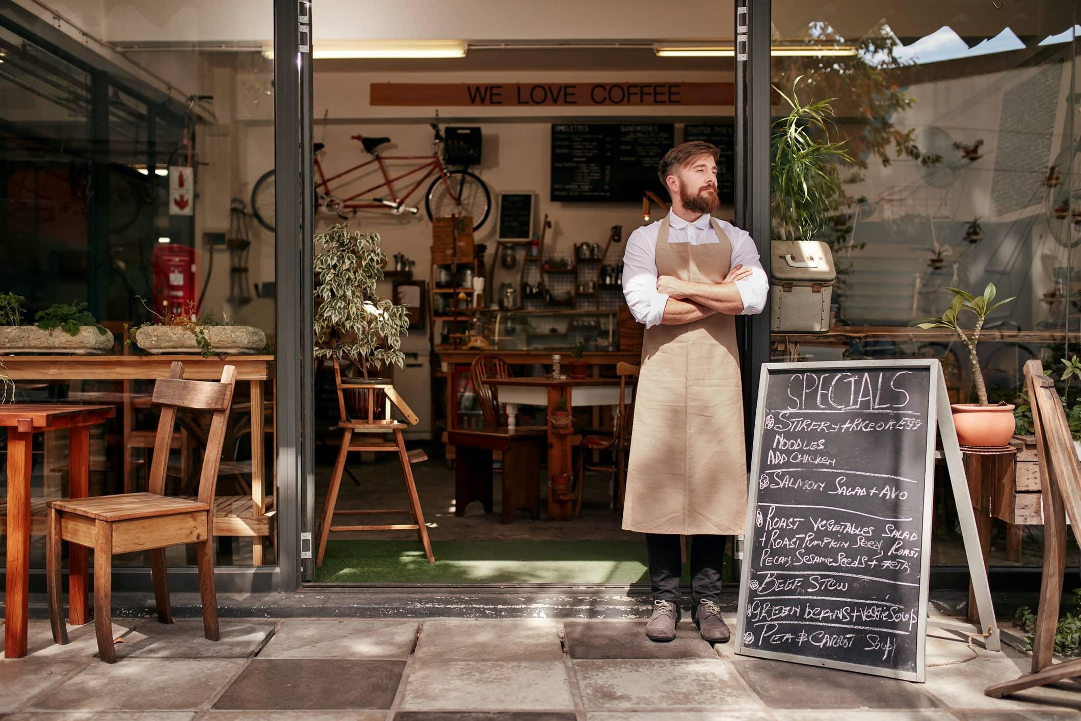Coffee Shop Business Idea Mini