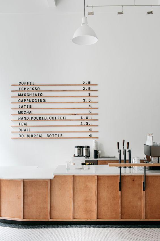 mở quán cafe thực đơn phong phú