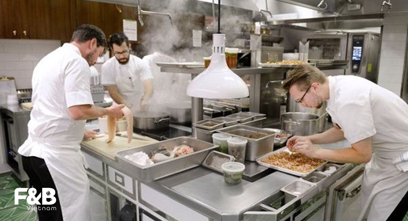 Thiết kế bếp nhà hàng theo quy mô xây dựng