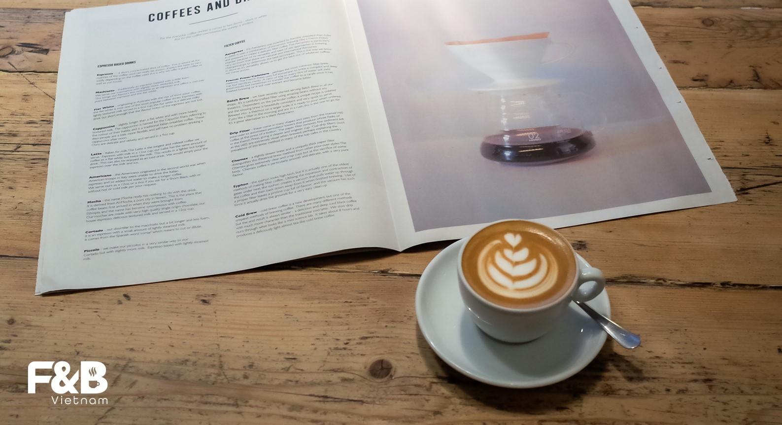 chương trình đào tạo nhân viên cà phê