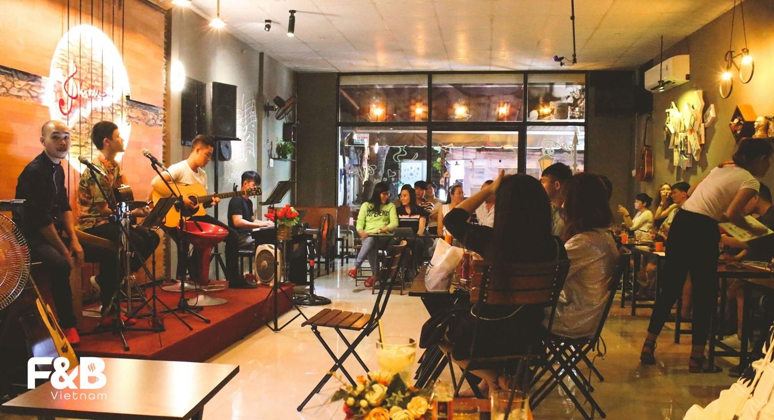 Tránh các lỗi âm nhạc cho quán cà phê