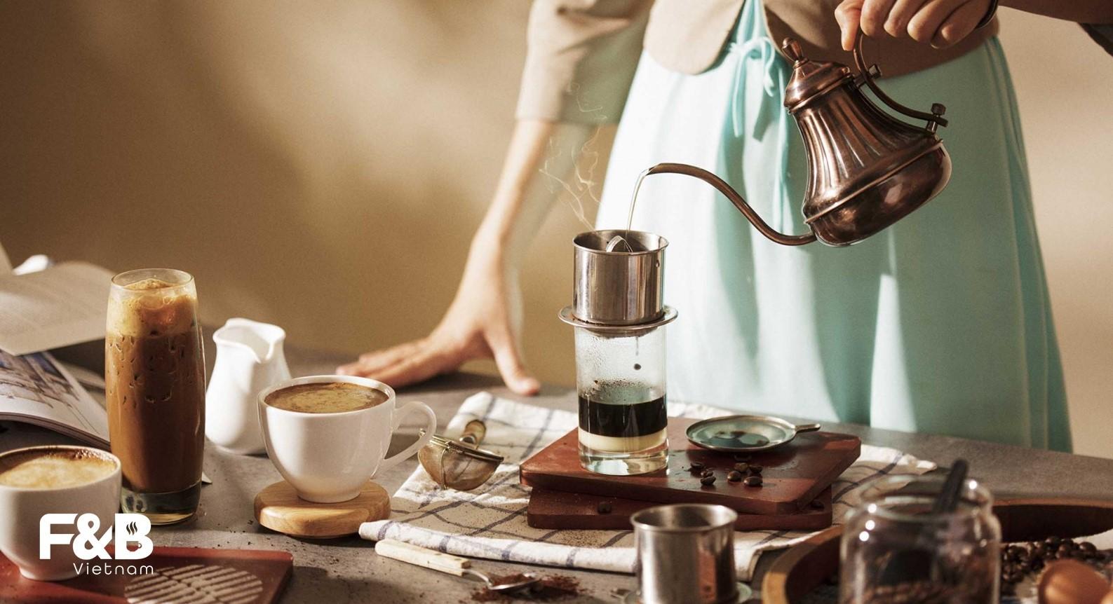 thiết bị đào tạo nhân viên cà phê