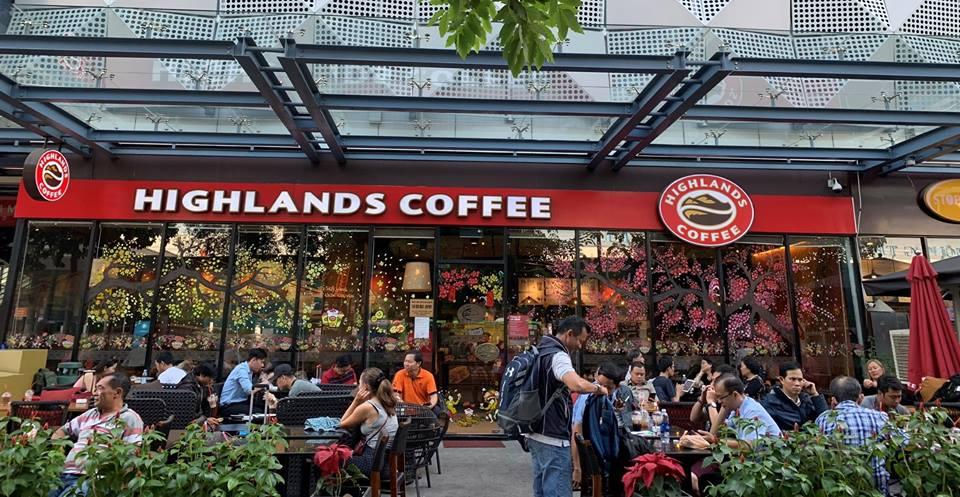 highlands coffee - cà phê nhượng quyền