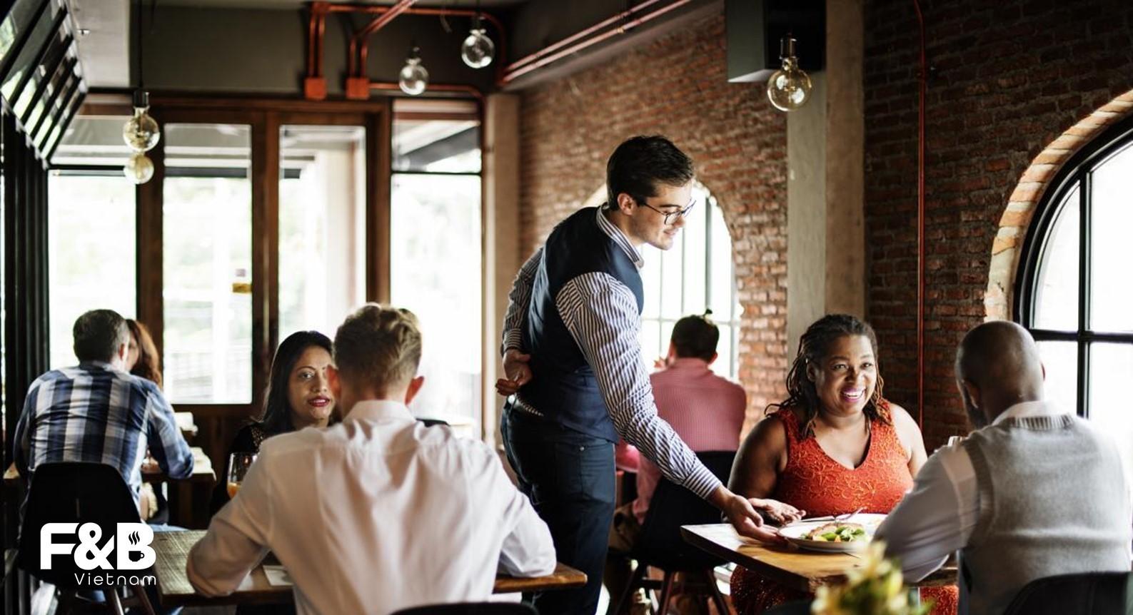 quy trình vận hành nhà hàng