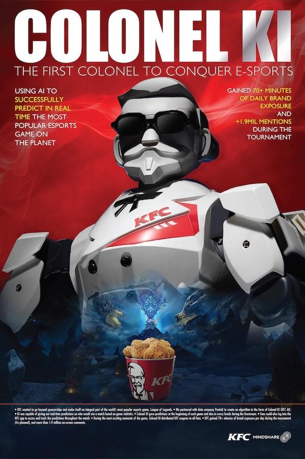 """Nhờ AI, Mindshare đã giúp KFC """"toả sáng"""" với Liên minh Huyền thoại như thế nào?"""