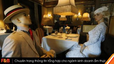 Photo of Dịch vụ ăn tối cùng ma-nơ-canh trong các nhà hàng sau dịch COVID-19