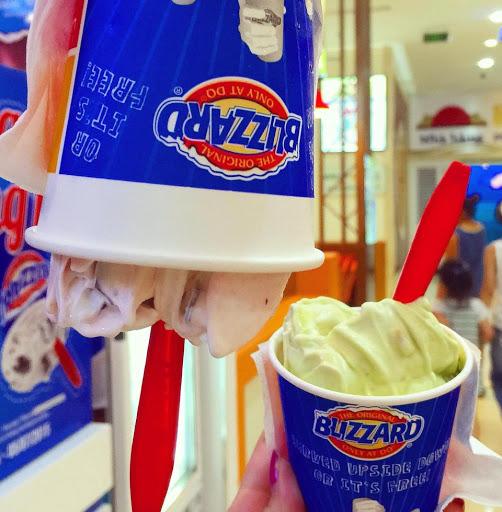Dairy Queen nổi tiếng với dòng kem úp ngược