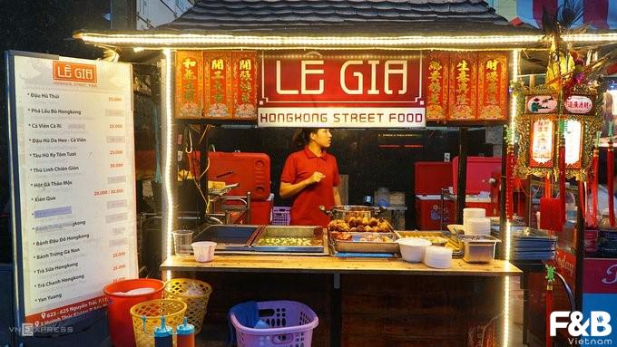 Trang trí quán ăn vặt ấn tượng FnB Việt Nam