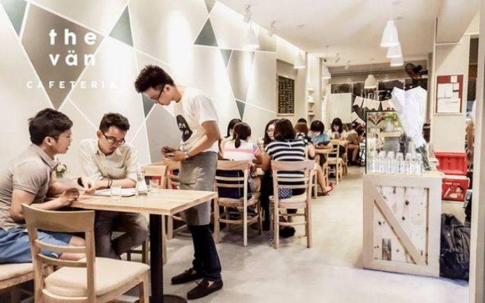 kinh nghiệm mở quán cafe cơm văn phòng