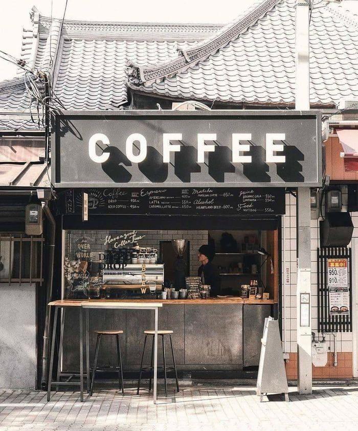 Mở quán cafe là gì