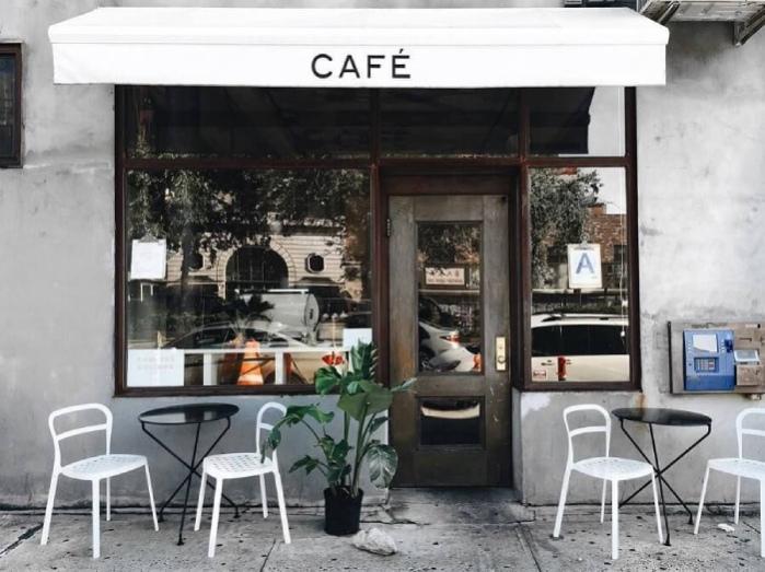 Mở quán cafe mang đi