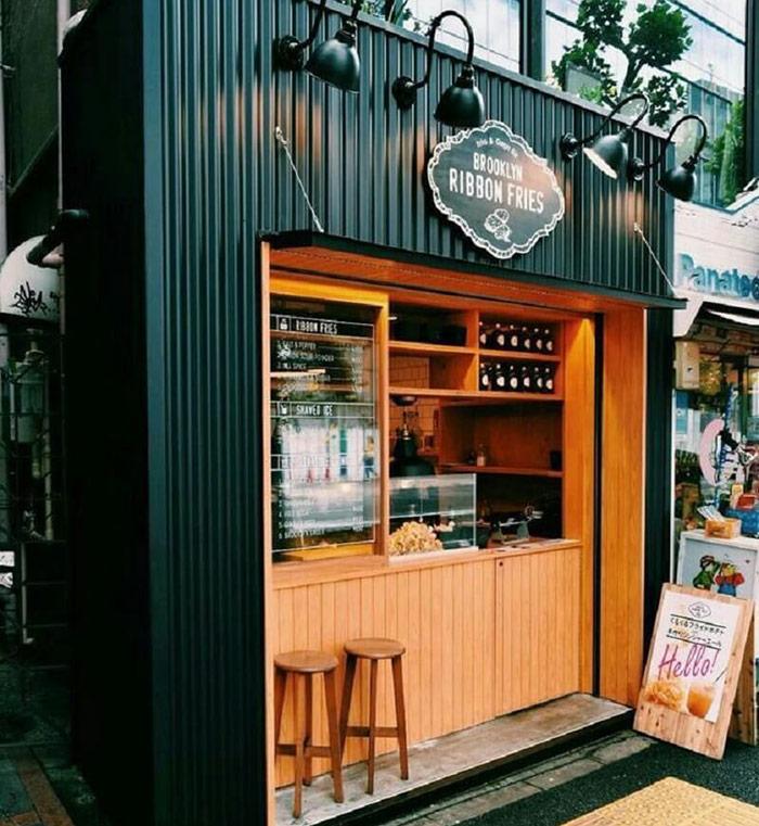 Mô hình quán cafe với 50 triệu