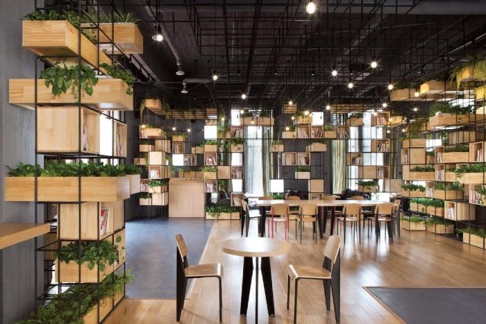 Mô Hình Cafe Sách