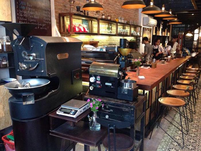 Mô Hình Quán Cafe Rang Xay