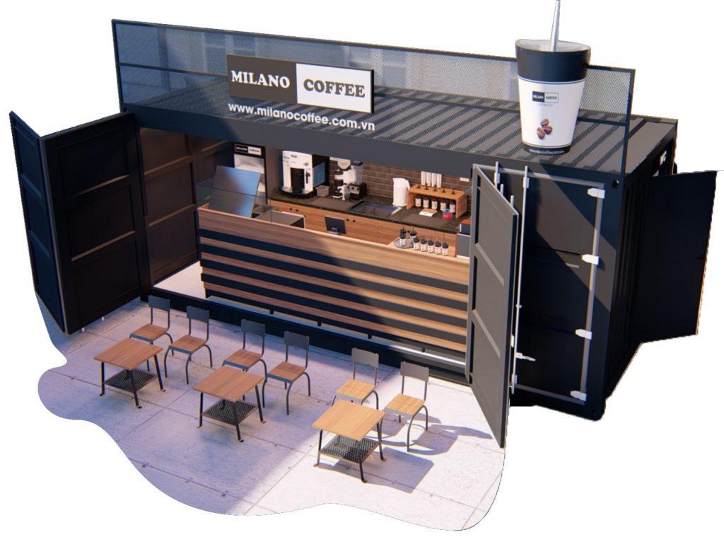 Mở Quán Cafe Milano