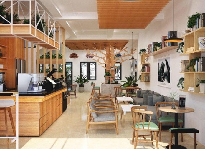 Mở 1 quán cafe nhỏ