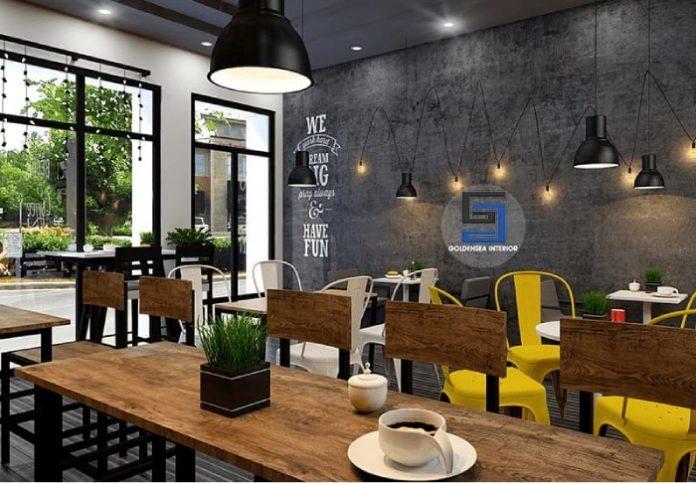 Mở quán cafe diện tích nhỏ