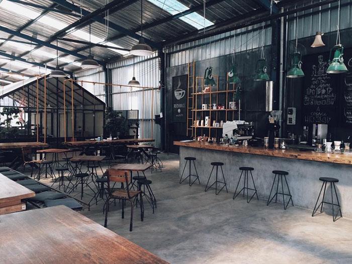 Thiết Kế Quán Cafe Rang Xay