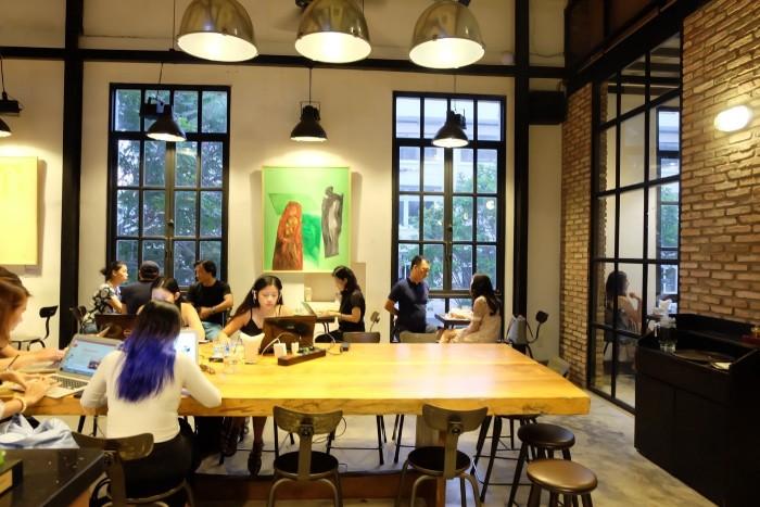 kinh nghiệm mở quán cafe văn phòng