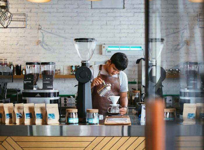 kinh nghiệm mở quán cà phê rang xay