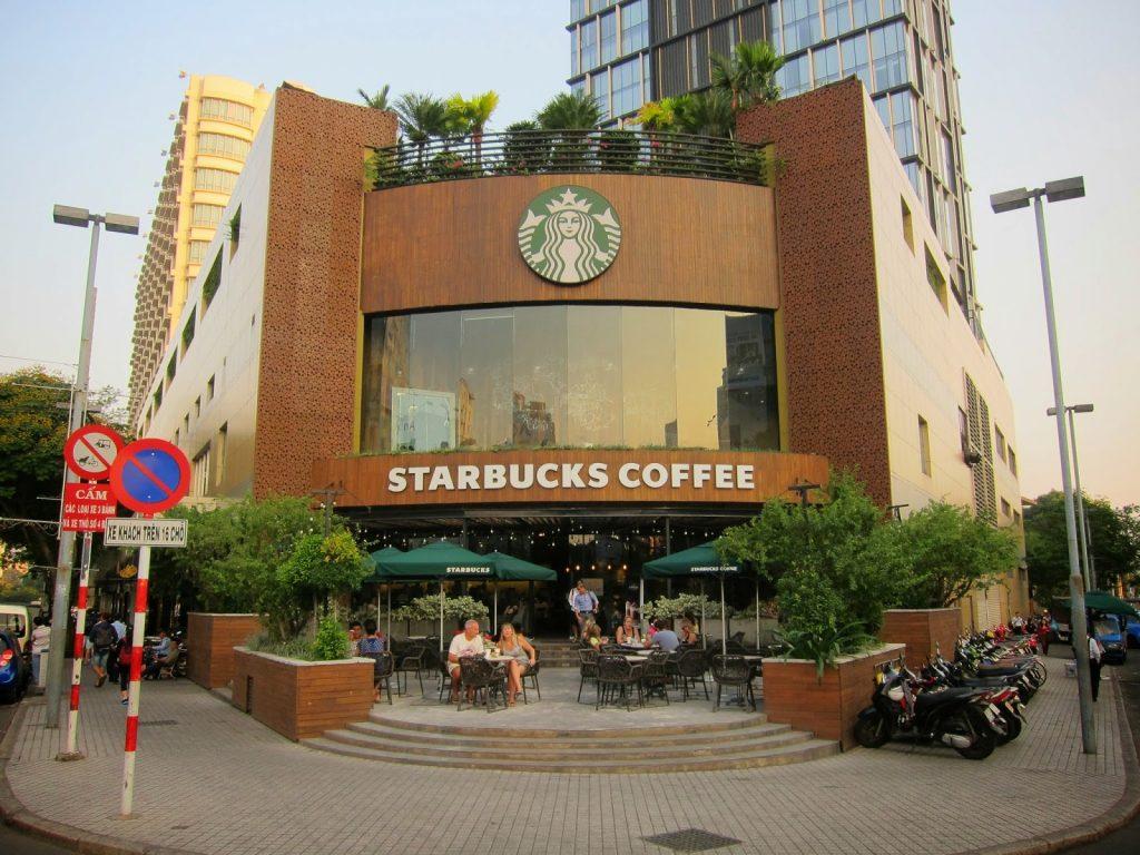 mở quán cafe starbuck