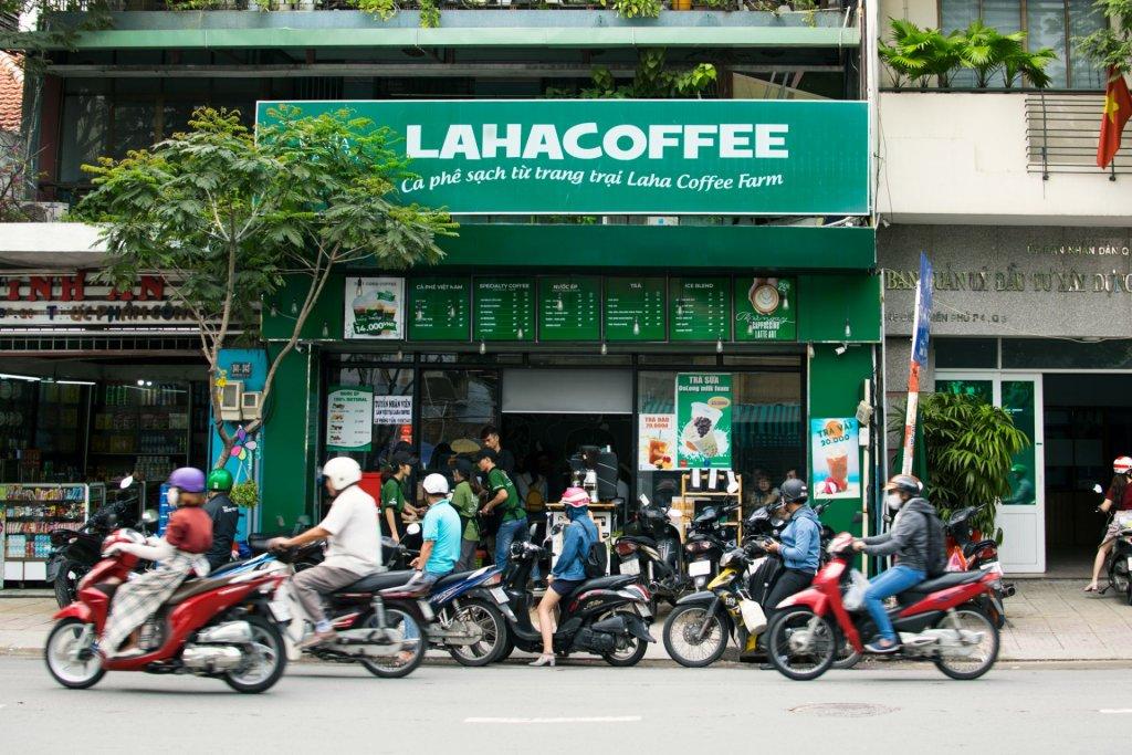 Chi Phí Mở Quán Cafe Nhượng Quyền Laha