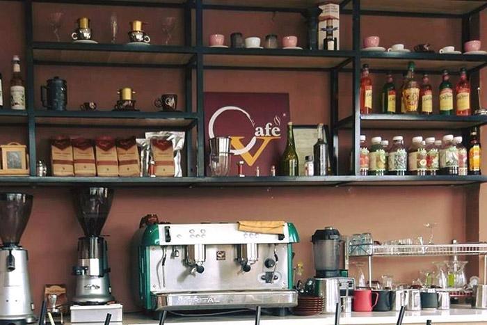 Dụng Cụ Quầy Bar Quán Cafe