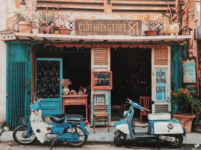 Không Gian Quán Cafe Vintage