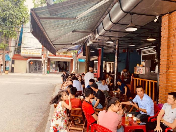 Mô Hình Cafe Cóc