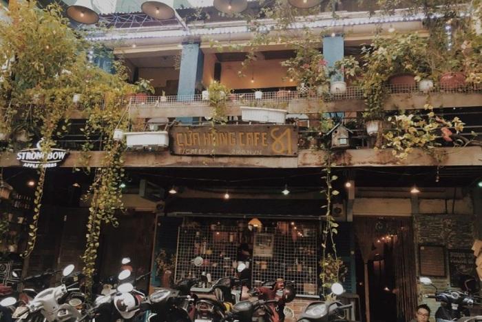 Mô Hình Cafe Vintage