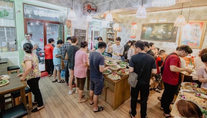 Kinh nghiệm mở nhà hàng chay