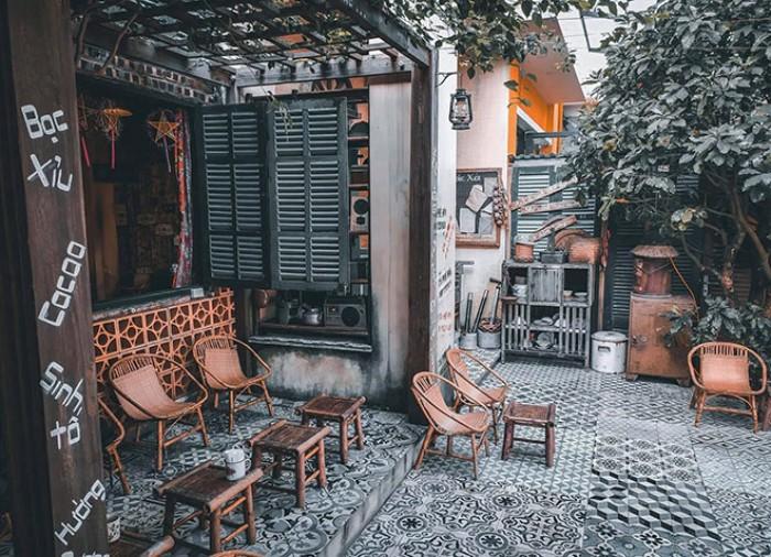 Phong Cách Thiết Kế Cafe Vintage