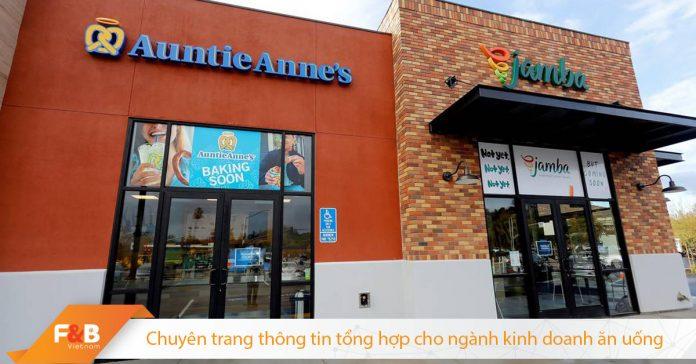 Chiến lược kết hợp thành công của Jamba và Auntie Anne's