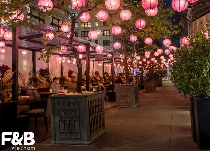 Lựa chọn và bố trí ánh sáng cho nhà hàng