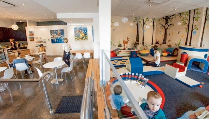 Mở quán cà phê khu vui chơi trẻ em