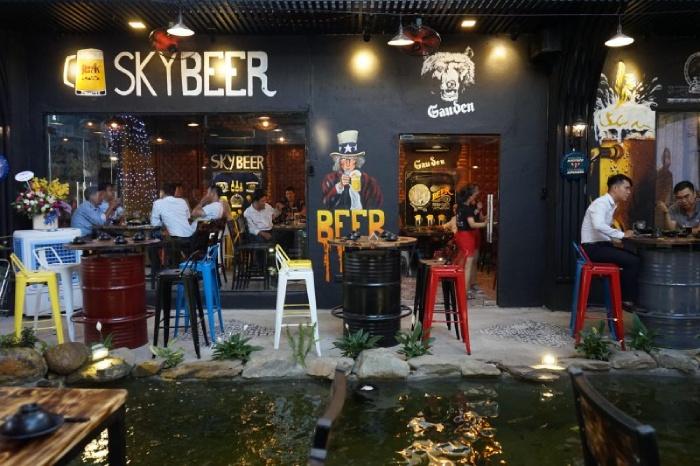 Mở quán cafe beer