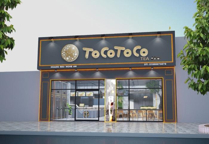 Chi phí mở quán trà sữa Tocotoco