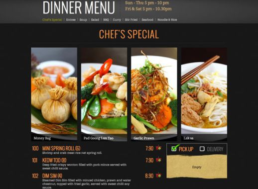 Five Must Have Features For Your Restaurant Website