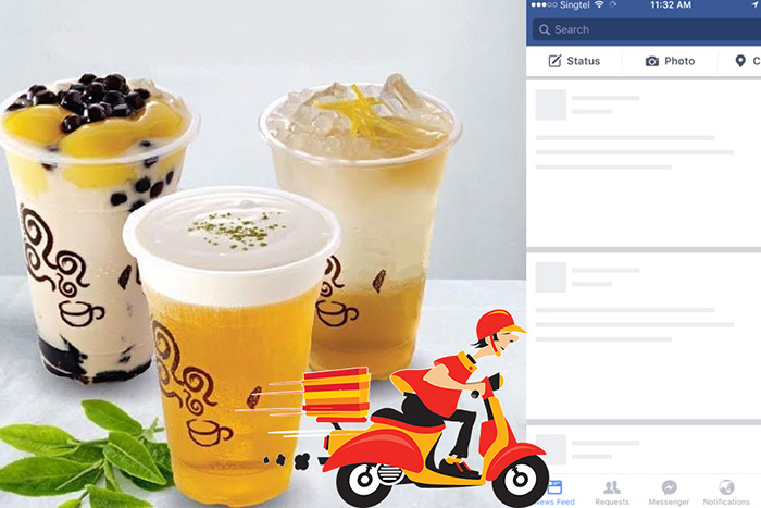 Mô Hình Kinh Doanh Trà Sữa Online