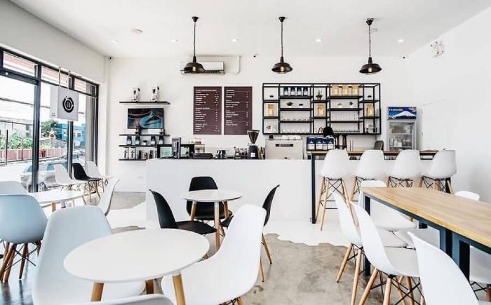 Mô Hình Quán Cafe Đơn Giản
