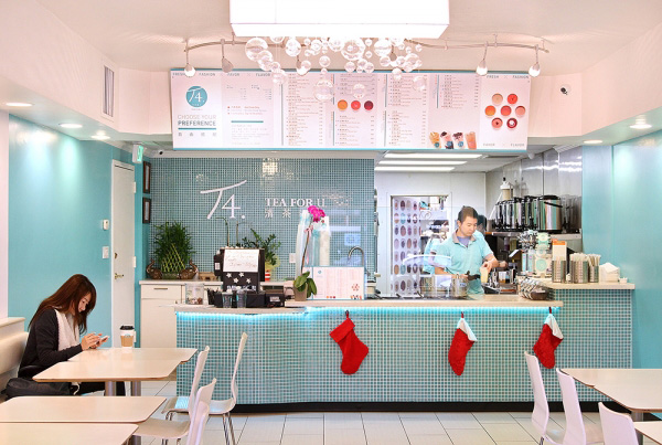 Thiết kế mở quán trà sữa với 50 triệu